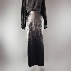 Vintage Scott faux leather skirt